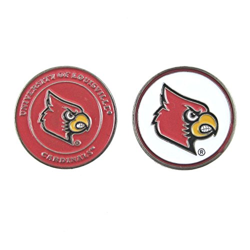 Louisville Cardinals NCAA Double-Sided Golf Ball Marker