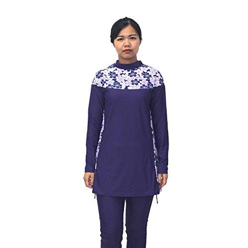 cd31d2a622 MZ Garment Muslim Swimwear Women Islamic Hijab Modesty Modest Swimsuit  Costume (XXL