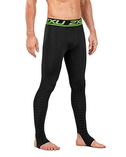2XU Men's Elite Power Recovery Compression Tights, Black/Nero, Medium/Tall by 2XU (Image #4)