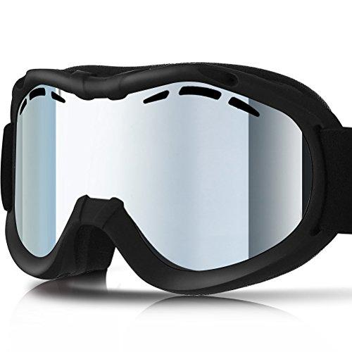 ZIONOR Lagopus Ski Snowboard Goggles UV Protection Anti-fog Snow Goggles for Men Women - Skiing Goggles Snow