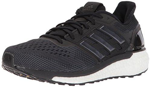 adidas Women's Supernova W Running Shoe, Core Black/Core Black/Core Black, 10 M ()