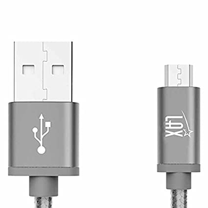 Amazon.com: Lax - Cable micro USB cargador para Android ...