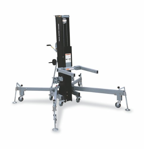 Genie-Super-Tower-ST-25-Truss-Rigging-Lift-with-Anodized-Matte-Black-Finish-800-lbs-Load-Capacity-Lift-Height-2605