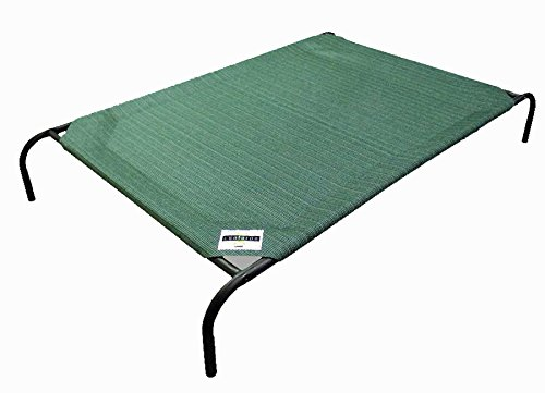 The Original Elevated Pet Bed By Coolaroo – Large Brunswick Green
