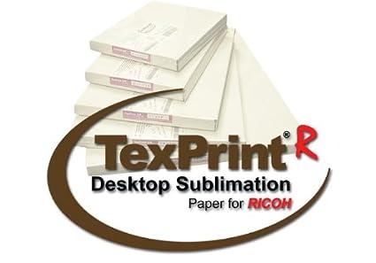 Amazon com: TexPrint R Sublimation Paper - 110 Sheets : 11
