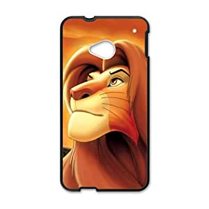 The Lion King Black HTC M7 case