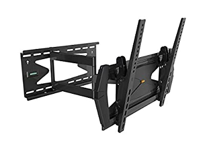 "Black Full-Motion Tilt/Swivel Wall Mount Bracket with Anti-Theft Feature for LG 32LN5300 32"" inch LED HDTV TV/Television - Articulating/Tilting/Swiveling"