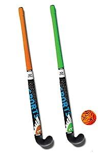 Street-Hockeyschlägerset mit Tasche 76CM Junior