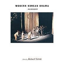 Modern Korean Drama: An Anthology