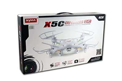 Syma X5C Quadcopter equipped with HD cameras from Syma
