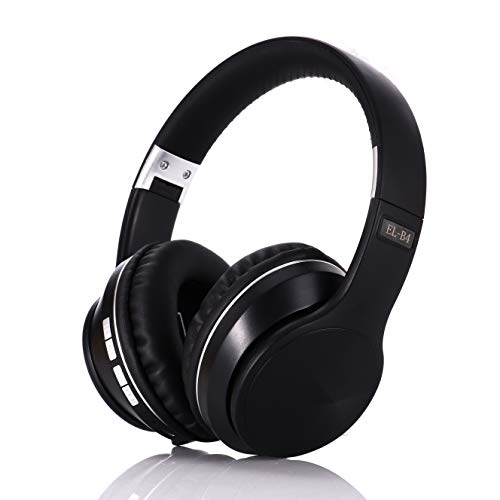 Wireless Over Ear Headphones with 3.5mm Audio Cable FM,TF Card Slot, Foldable Wired Over-Ear Headphones with HiFi Stereo…