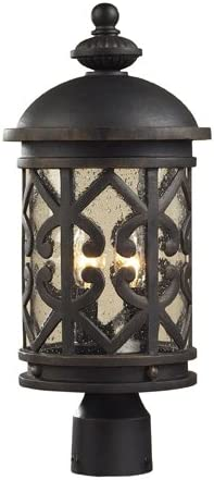 Cambria 19 High Post Light by Elk Lighting