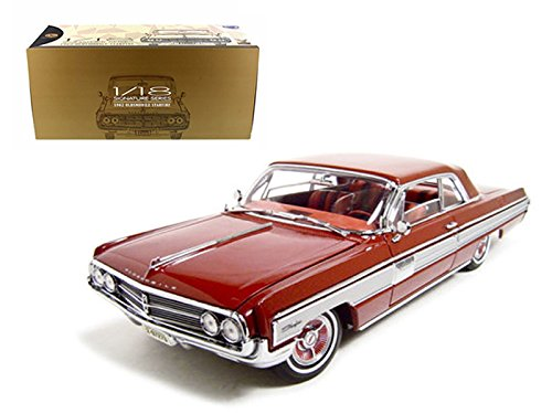 1962 Oldsmobile Starfire Garnet/Red 1/18 Car Model by Road Signature