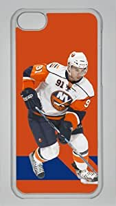 JOHN TAVARES Custom PC Transparent Case for iPhone 5C by icasepersonalized