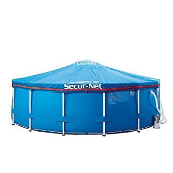 Secur-net SF 18u0026quot; Foot - Child Safe Pool Cover Steel Framed Pools  sc 1 st  Amazon.com & Amazon.com : Secur-net SF 18
