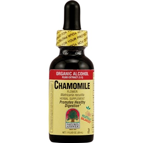Nature's Answer Chamomile Flower, Low Alcohol, 2 Ounce (Pack of 12)