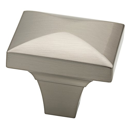 - Liberty P19446C-SN-CP 1-3/4-Inch Beverly Kitchen Cabinet Hardware Knob, Satin Nickel