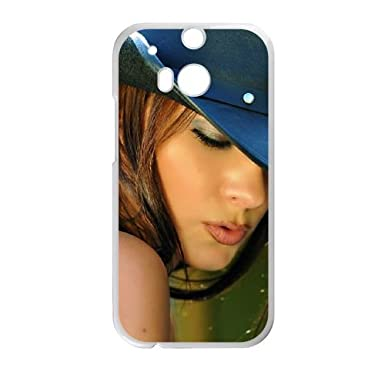 Melisa Mendiny Htc One M8 Cell Phone Case White Cell Phone Case Cover Evaxlknbc25022