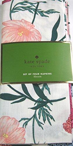 - Kate Spade Floral Napkins Blossom/Multi Color 100% Cotton 4 Pk. 20