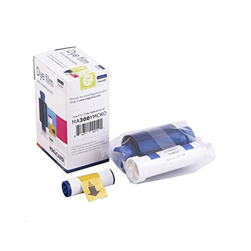 Color Ribbon for Magicard MA300YMCKO Full Color Ribbon Kit Genuine