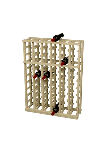 Wine Cellar Innovations Rustic Pine Individual Half Height Wine Rack for 66 (6 Column Wine Rack)