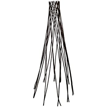 Master Garden Products Willow Round Teepee Trellis, 60 Inch