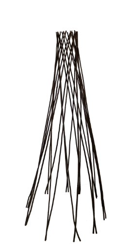 Master Garden Products Willow Round Teepee Trellis, 48-Inch by Master Garden Products