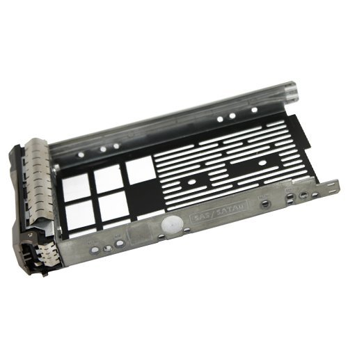 (10 Pack) 3.5'' SAS Hard Drive Tray Caddy for Dell F238f for Dell Poweredge R610 R710 T610 T710 by Generic (Image #1)