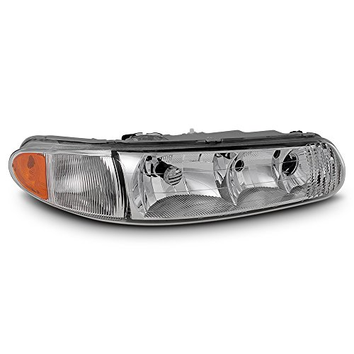 ACANII - For 1997-2005 Buick Century 97-2004 Regal Replacement Headlight Headlamp - Passenger Side Only