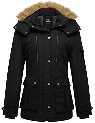 Wantdo Women's Thicken Parka