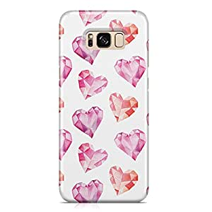 Samsung S8 Case Cute Lovely Heart Pattern Great For Girls Scratch Resistant Protective Samsung S8 Cover Wrap Around 50