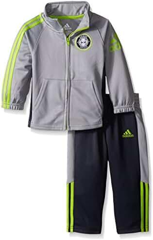 adidas Boys' Tricot Jacket and Pant Set