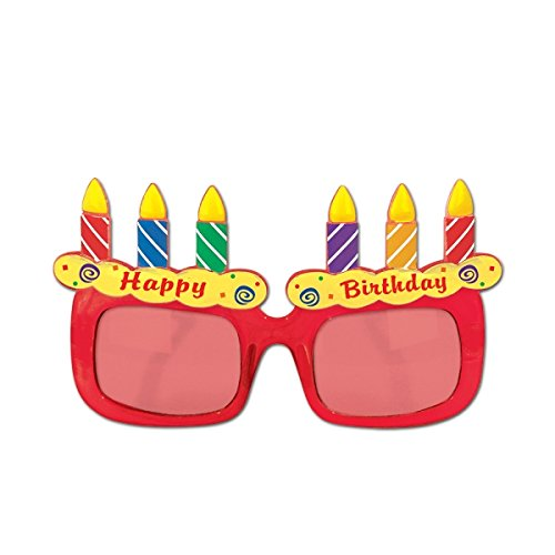 Beistle 60382 Birthday Cake - Birthday Sunglasses