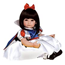"""Adora Toddler Classic Snow White 20"""" Girl Weighted Doll Gift Set for Children 6+ Huggable Vinyl Cuddly Snuggle Soft Body Toy"""