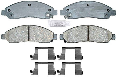 ACDelco 17D1039CH Professional Ceramic Front Disc Brake Pad Set