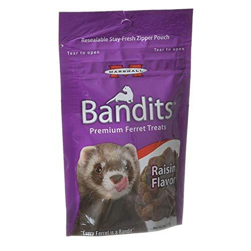 (Marshall Bandits Ferret Treat, 3-Ounce, Raisin )