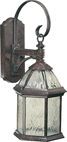 Quorum Outdoor Lighting - Quorum 7817-1-45 Weston Outdoor Wall Sconce, 1-Light, 100 Watts, Baltic Granite