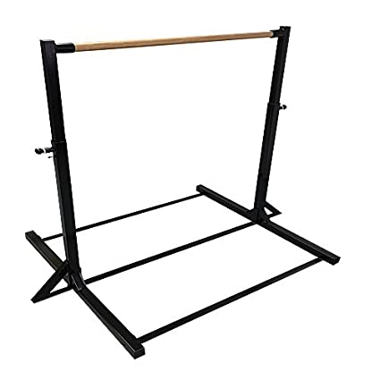The Beam Store Gymnastics Mini High Bar Without Extension Legs Black Made In USA