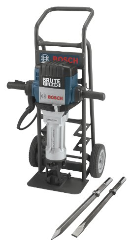 Bosch BH2770VCD 120-Volt 1-1/8 Hex Breaker Hammer Brute Turbo Deluxe Kit by Bosch
