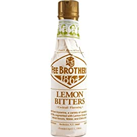 Fee Brothers Lemon Cocktail Bitters - 5 oz - 2 Pack 2 Add a snappy citrus taste to your drinks, soups, and sauces. Interesting background flavor. A Fee Brothers original.