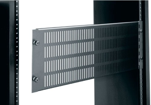 Vented 2 Space Rack Panel (Access Panel for Rackmount, Solid or Vented Racking Height: 3 1/2