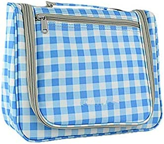 化粧ポーチ コスメティックバッグ小型ポータブル大容量多機能トラベル貯蔵袋ポータブルトイレタリーバッグに出張 ウォッシュバッグ (色 : Pink, Size : 22x10.5x26cm)