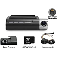 Thinkware F800 Exclusive 2-Channel Bundle 1080P FHD WiFi Rearview Camera 16GB, 64GB SD Card and Hardwiring Kit Included