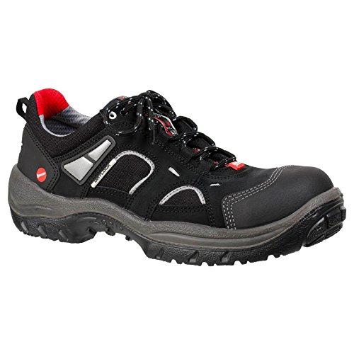 """Ejendals 3305–37taglia 37""""JALAS 3305DRYLOCK Calzature di sicurezza, colore: nero/grigio/rosso"""