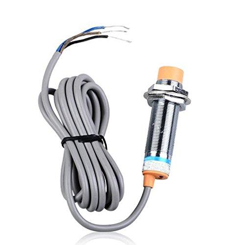 🥇 VABNEER LJC18A3-H-Z/BX Interruptores de cable Interruptor de proximidad capacitivo Capacitive Proximity Sensors Switch NPN DC 6-36V 300mA 3 hilos 1-10mm normalmente abiertos