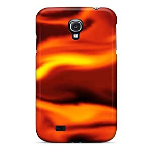 Flexible Tpu Back Case Cover For Galaxy S4 - Fire