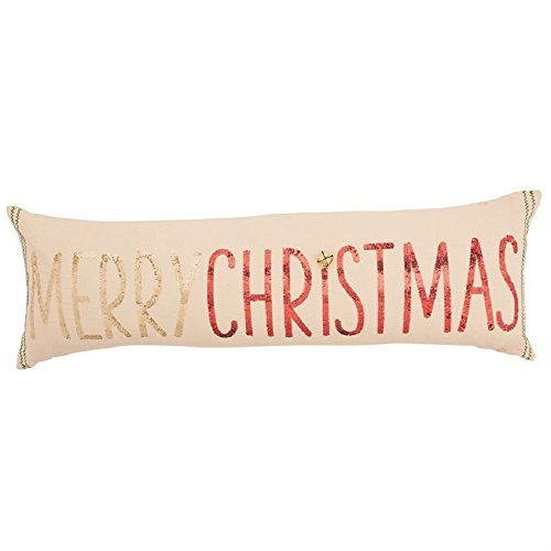 Mud Pie Merry Christmas Sequin Pillow