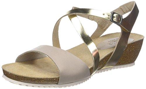 Womens Grege Stefany Open Ivoire Sandals Toe TBS Champagne xq1wYdnZ