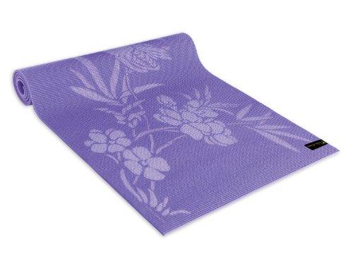 Wailana Yoga And Pilates Mats Love Birds Lavender
