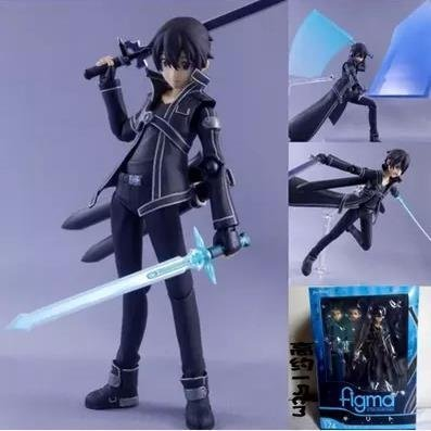- Bentum 15cm Sword Art Online Kirigaya Kazuto Figma PVC Action Figure